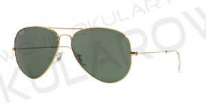 Ray-Ban RB3026 L2846 AVIATOR LARGE METAL